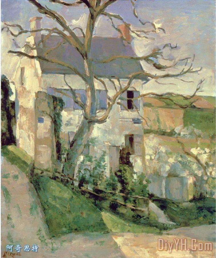 房子和树的c + 1873 74 - 房子和树的c + 1873 74装饰画