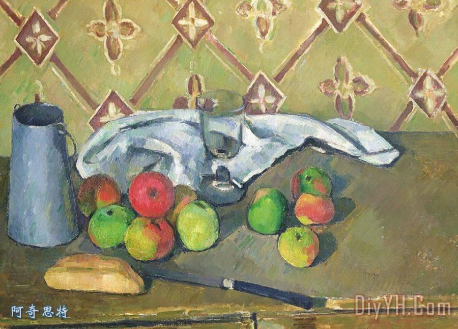 苹果树装饰画绘画分享展示