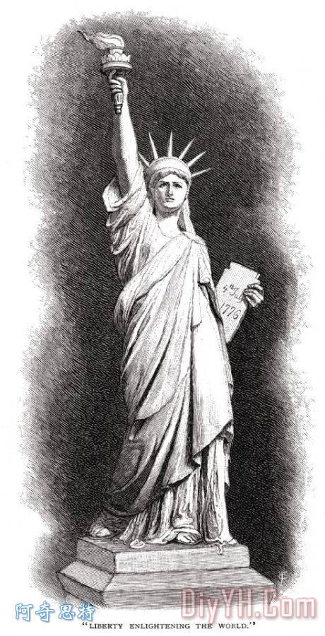 自由女神像 - 自由女神像装饰画