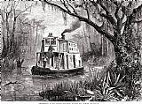 佛罗里达州:圣约翰斯河装饰画