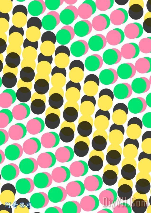重叠点装饰画_圆环_路易莎_圆形的_重叠点(数字)由(家