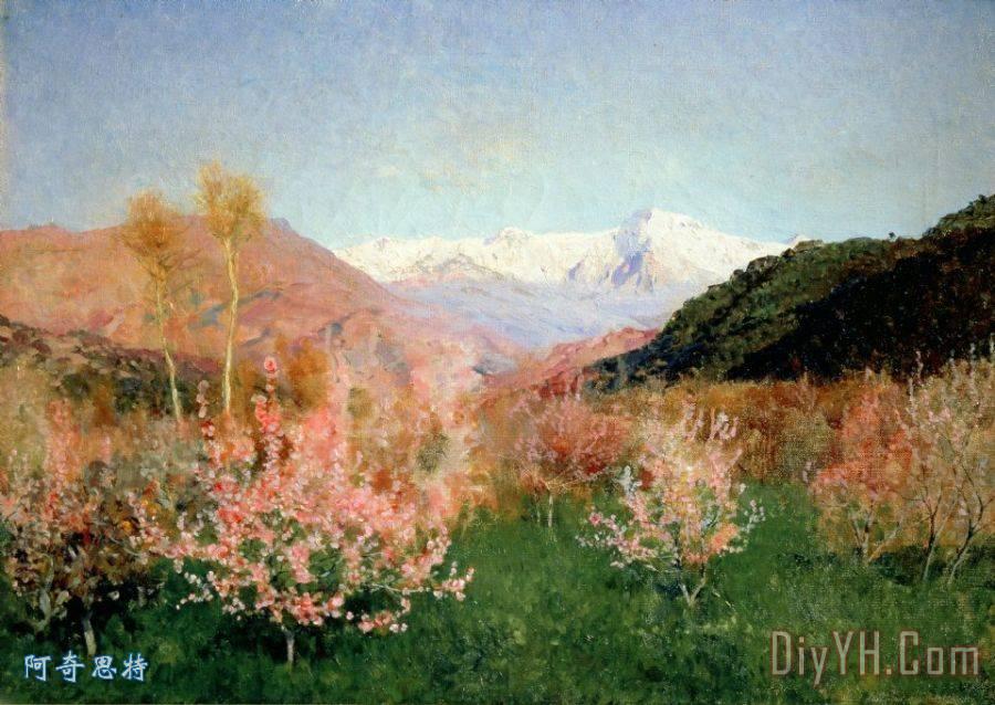 春天在意大利装饰画_风景