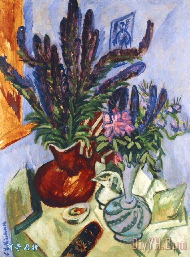 静物花瓶鲜花