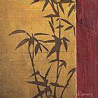 现代竹二装饰画