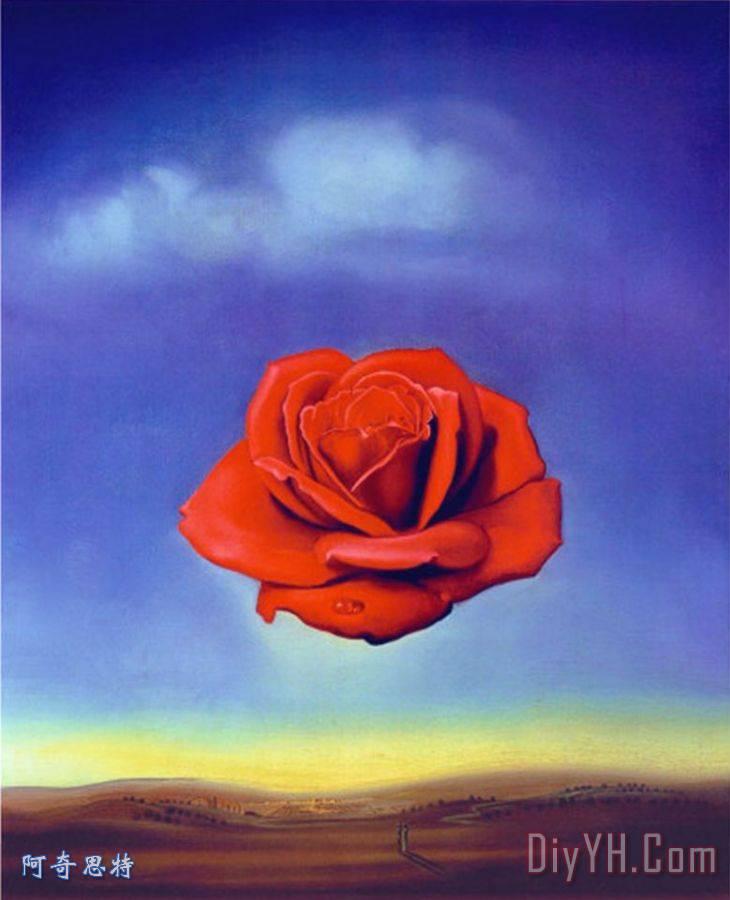 Meditative Rose - 萨尔瓦多·达利Meditative Rose装饰画