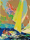 诺曼底帆船装饰画