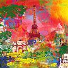 - 巴黎的艾菲尔铁塔