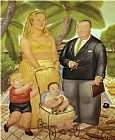 弗兰克·劳埃德和他在天堂岛家庭装饰画