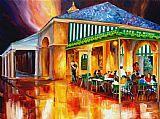 午夜的咖啡馆Du Monde酒店装饰画