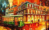 新奥尔良电车装饰画