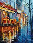 咖啡馆在巴黎装饰画