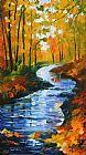 秋色小溪装饰画
