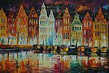 阿姆斯特丹的全景装饰画