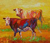 两头牛装饰画