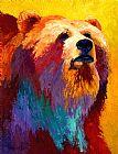 摘要灰熊装饰画