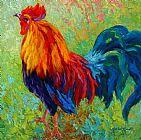 金鸡动物装饰画
