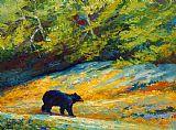 海滩午餐 - 黑熊装饰画