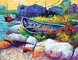 东海岸船装饰画
