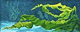 海带流动装饰画