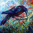 孤独的乌鸦装饰画
