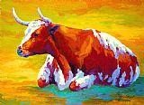 - 长角牛