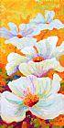 草原天使 - 白色罂粟花装饰画