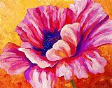 粉红色的罂粟装饰画