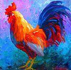 大公鸡动物装饰画