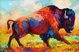运行免费 - 野牛装饰画