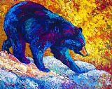 试探性的步骤 - 黑熊装饰画