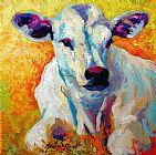 白色小牛装饰画