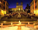 步骤圣三一蒙蒂意大利罗马写实装饰画