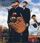 比赛因雨艰难的电话1949年被称为装饰画