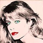 Farrah Fawcett肖像人物装饰画