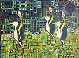 新月企鹅种族装饰画