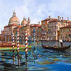 大运河装饰画
