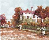 宫在秋季装饰画