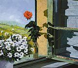 罗萨窗口装饰画