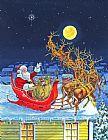 祝大家圣诞快乐装饰画