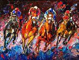 赛马装饰画