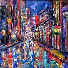 波旁街抽象装饰画