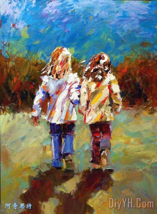 友谊天长地久 - 友谊天长地久装饰画