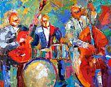 吉他鼓和低音装饰画