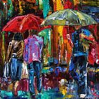 大雨装饰画