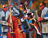 爵士乐装饰画