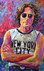 列侬纽约装饰画