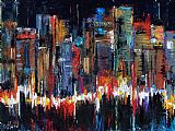 城市脉搏装饰画