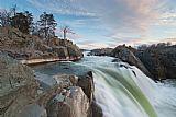 瀑布 - 在波托马克河大瀑布