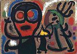 性格和鸟类, 1963装饰画