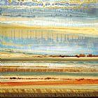地平线山川草木抽象装饰画